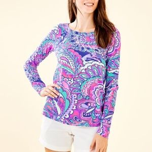 NWT Lilly Pulitzer Tristan Top Mermaids Call